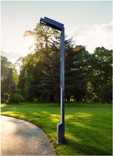 Straßenlaterne Solar 1462 Vertikal