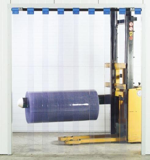 Weich PVC Streifenvorhang Schwenkbar - Lamellenvorhang Industrie