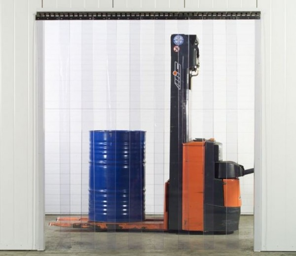 Weich PVC Streifenvorhang Einhang